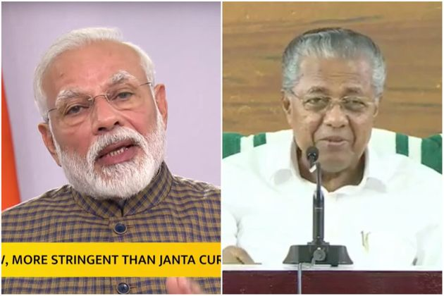 The difference in the way Modi and Pinarayi handled announcement of