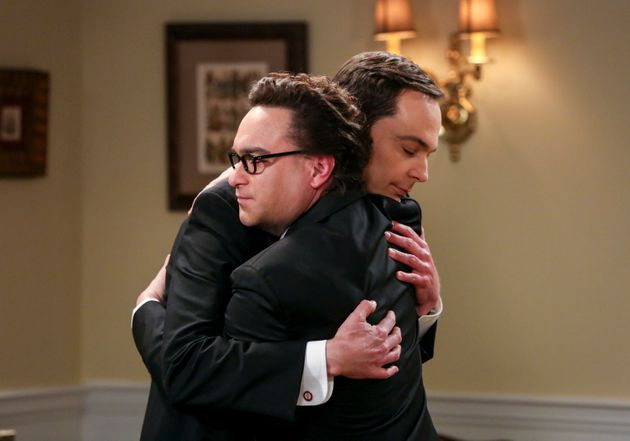 Jim Parsons y Johnny Galecki, en un capítulo de 'The Big Bang