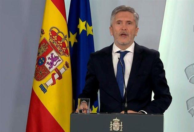 El ministro del Interior, Fernando