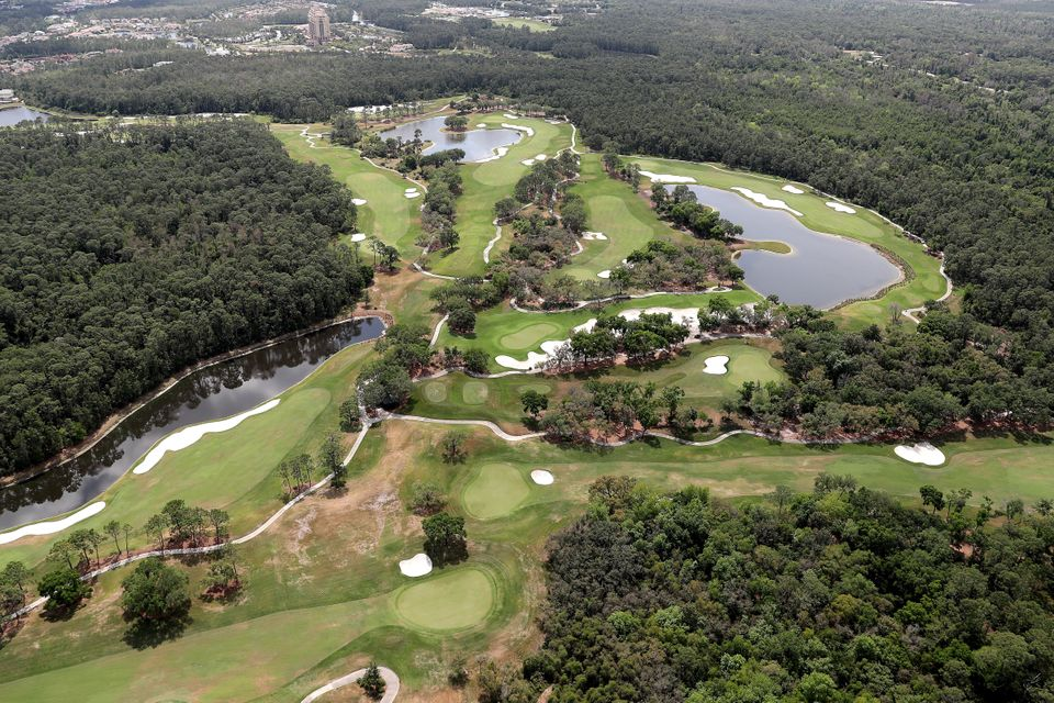 Το γήπεδο γκολφ του ξενοδοχείου Four Seasons, στην Walt Disney World.