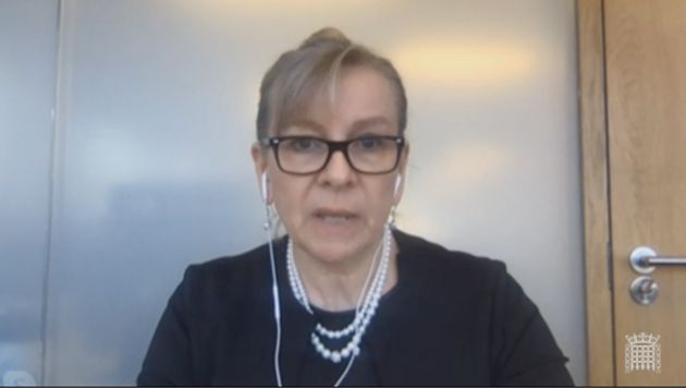 Professor Sharon Peacock, director of the National Infection Service at Public Health England (PHE) speaking...