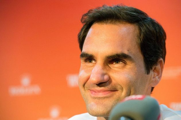 L'ancien numéro un mondial, Roger Federer, le 5 février 2020 en Afrique du