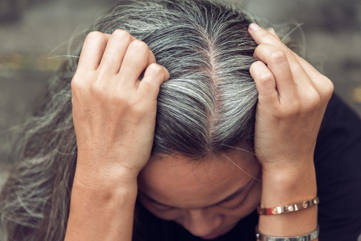 Master colorist Nicole Giannini recommends leaving at-home hair color on up to 15 minutes longer than what the manufacturer's directions say.