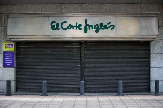 El Corte Inglés presenta un ERTE para 26.000