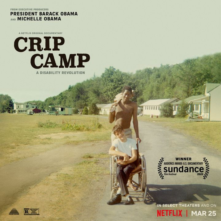 """The documentary """"Crip Camp,"""" which is available on Netflix starting March 25, follows a group of teens who launch the disabil"""