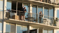 Vancouverites Take To Their Balconies To Applaud Health-Care