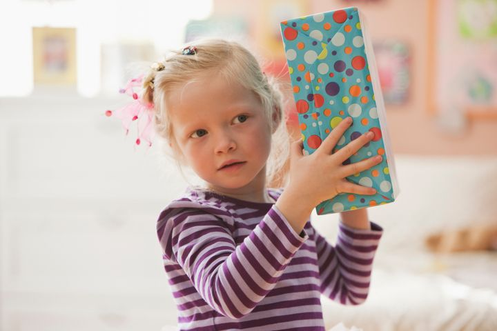 Searching for gifts is a fun way to celebrate a birthday at home