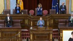 El Congreso se une al aplauso popular a los sanitarios por el