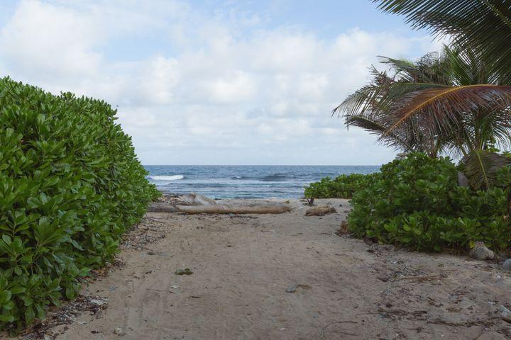 Utila is a small island off the coast of Honduras in the Caribbean Sea.