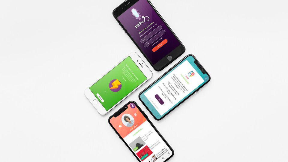 No ar desde 2019, o aplicativo PenhaS, realizado em parceria com a revista AzMina, faz referência...