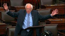 Ο μπέρνι Σάντερς Φτύνει Φωτιά Στο GOP Γερουσιαστές Για Καθυστέρηση Πάνω από τα Επιδόματα Ανεργίας