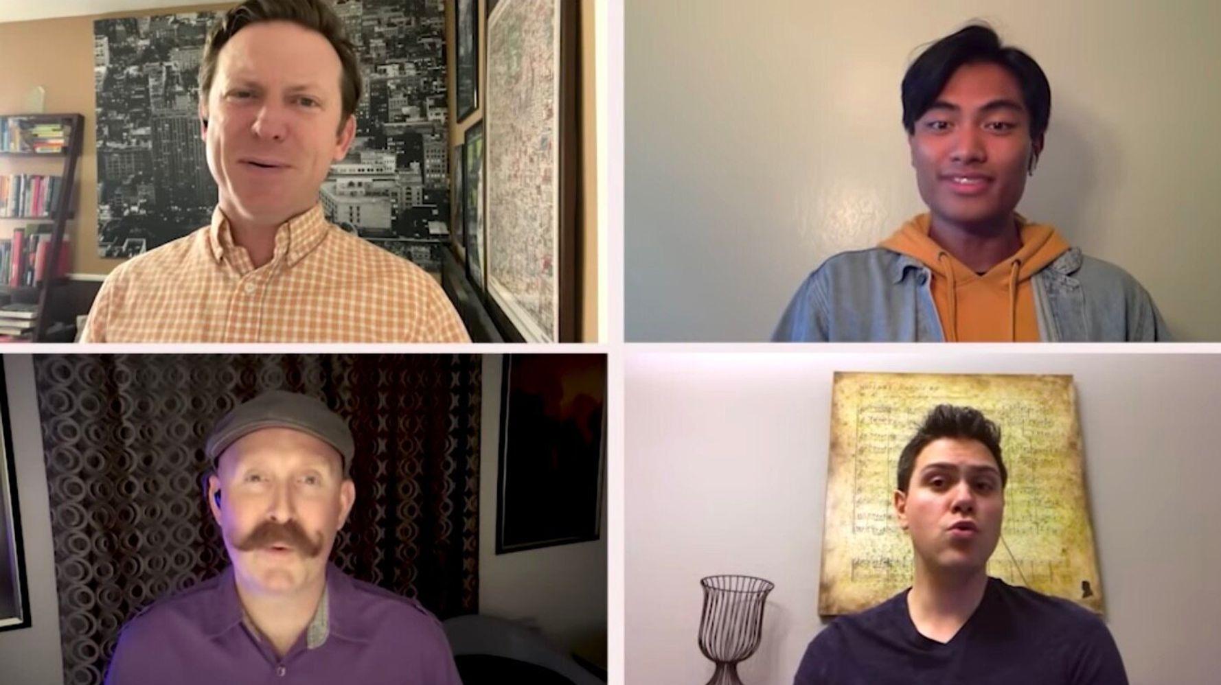 Disney's Dapper Dans Unite Online For A Stirring New Take On A Classic Tune