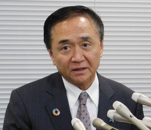 新型肺炎/会見する黒岩神奈川知事(2月20日)