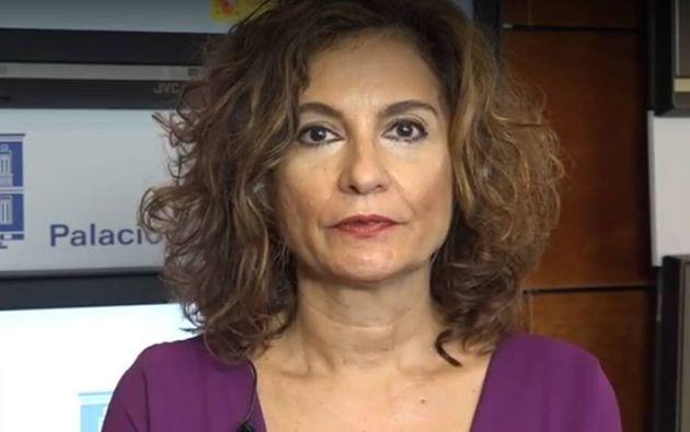 María Jesús Montero, ministra de