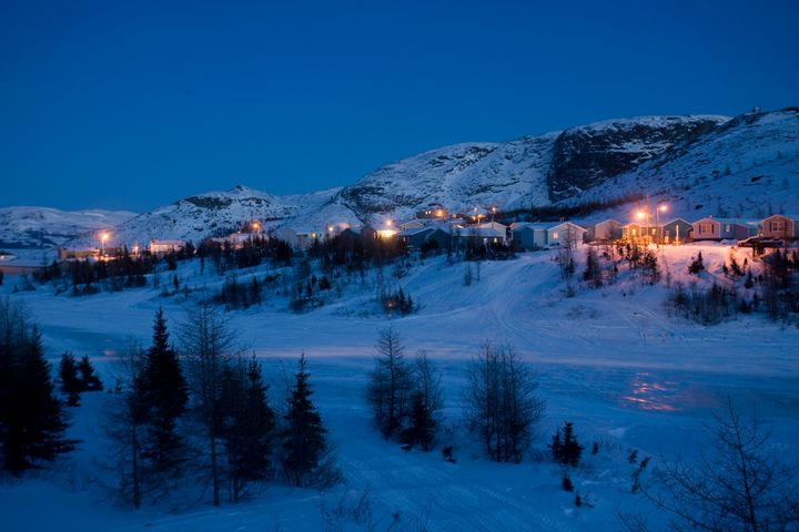 Nain, N.L. is where my family is from.