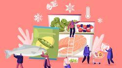 Ο σωστός τρόπος για να διατηρήσουμε τα τρόφιμα στην κατάψυξη εν μέσω