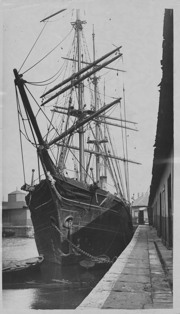 The Moravian Church's SS Harmony, pictured in