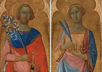 Άγιος Βίκτωρ και Αγία Κορόνα.