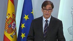 Sanidad afirma que España se aproxima al pico de la curva de la