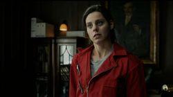 Una actriz de 'La casa de papel' cambia el mono rojo por la bata de enfermera contra el