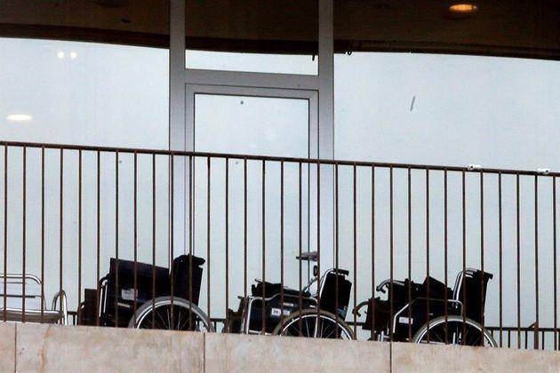 Vista de la Fundación Privada Consorts Guasch de Capellades (Barcelona), donde han muerto trece ancianos...