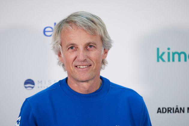 Jesús Calleja, presentador de 'Volando voy'