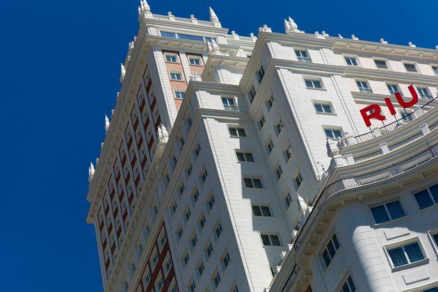 El hotel Riu Plaza España, en