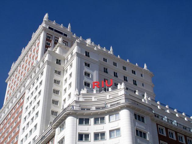 El hotel Riu Plaza de España, en