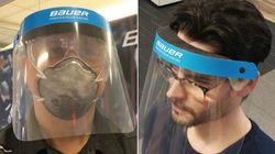 Bauer Drops Hockey Gear To Make Face Shields For Hospital