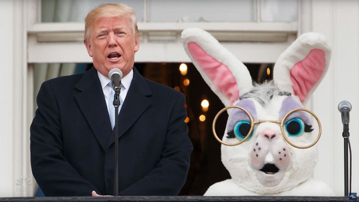 Some bunny better talk sense into this guy.