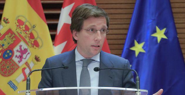 El alcalde de Madrid, José Luis
