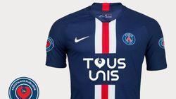 Le PSG vend un maillot collector pour aider
