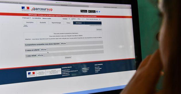 La plateforme Parcousup a rappelé aux élèves que le calendrier pour remplir leur...
