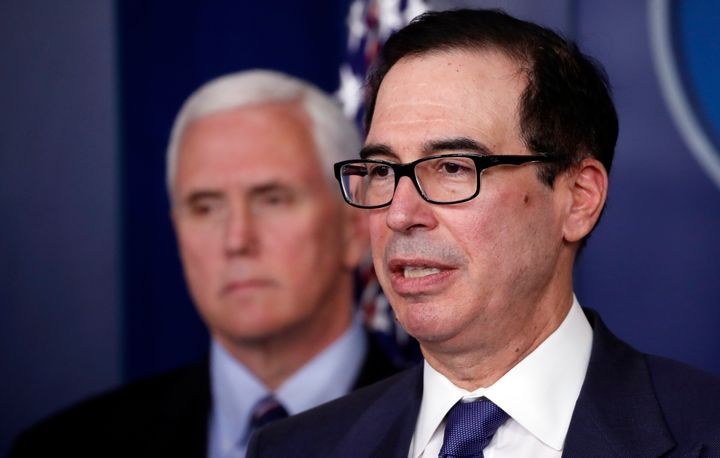 Treasury Secretary Steven Mnuchin said people shouldn't really pay too much attention to the 3.3 million people who filed une