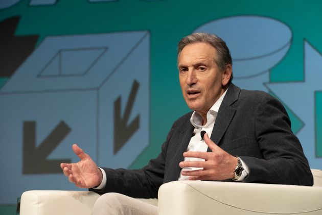 Seattle-based billionaire Howard Schultz has not donated any of his personal fortune toward efforts to...