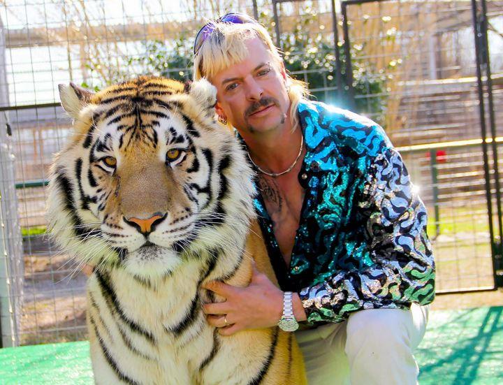 "Joe Exotic, the subject of Netflix's new documentary series ""Tiger King."""