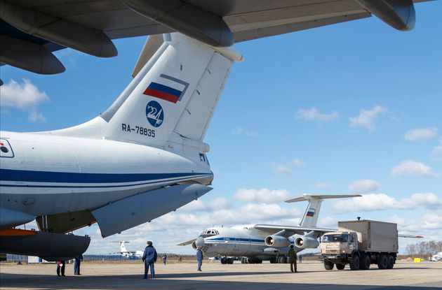 Reuters: Η ρωσική βοήθεια προς την Ιταλία εκθέτει την