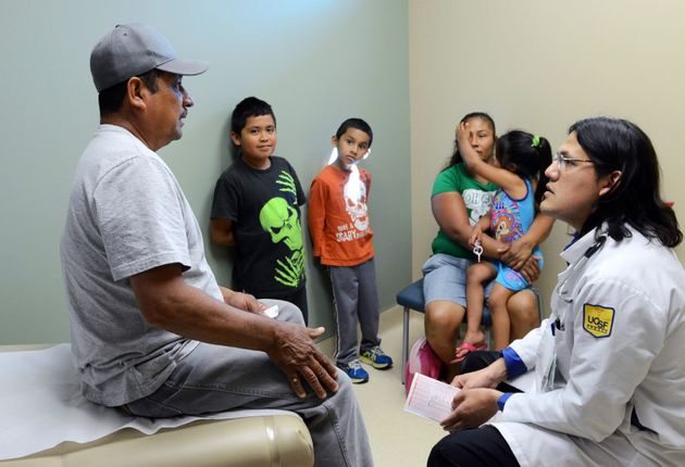 Farm laborers, especially those who are undocumented, often rely on special clinics for medical treatment....