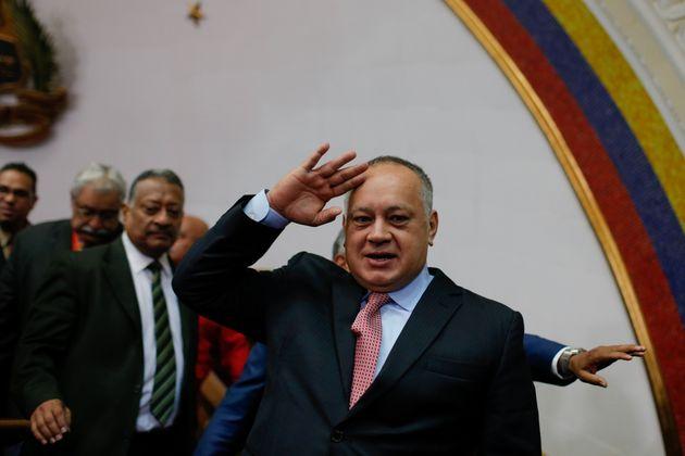 Diosdado Cabello, en una imagen de enero de