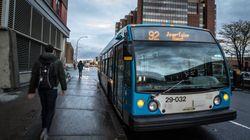 La STM réduit son service de bus et de
