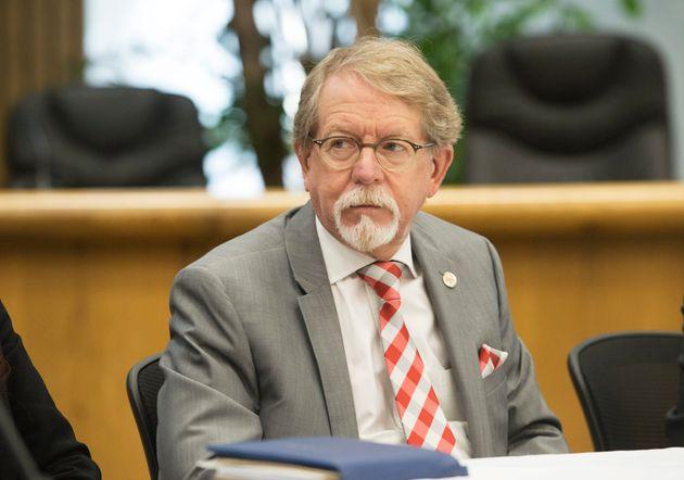 William Steinberg est le maire de la Ville de Hampstead depuis 2006. (photo