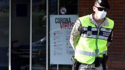 Al menos 700 agentes de las fuerzas de seguridad infectados por el