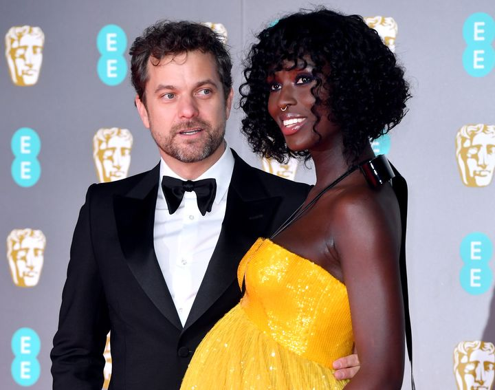 Joshua Jackson and Jodie Turner-Smith attending the 73rd British Academy Film Awards held at the Royal Albert Hall, London, on Feb. 2, 2020.