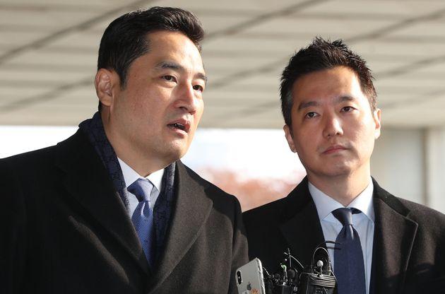강용석 변호사와 김세의 전 MBC 기자. 2019. 12.