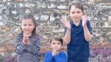 Ο Πρίγκιπας Γεώργιος, Ο Πρίγκιπας Και Η Πριγκίπισσα Σαρλότ Έκανε Το Πιο Γλυκό Βίντεο Για Την Υγεία Των Εργαζομένων