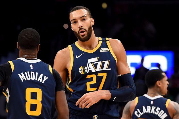 新型コロナウイルスに感染した、アメリカのプロバスケットボール・NBAユタ・ジャズ所属のルディ・ゴベール選手