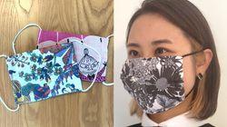 かわいい手縫い「布マスク」の作り方 簡単、型紙いらず