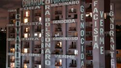 브라질 시민들이 정부의 코로나19 대응을 비판하며 '베란다 시위'에