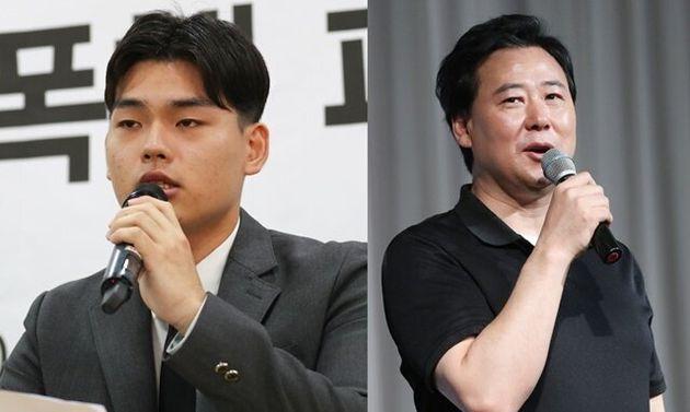 이석철(왼쪽) 김창환 미디어라인