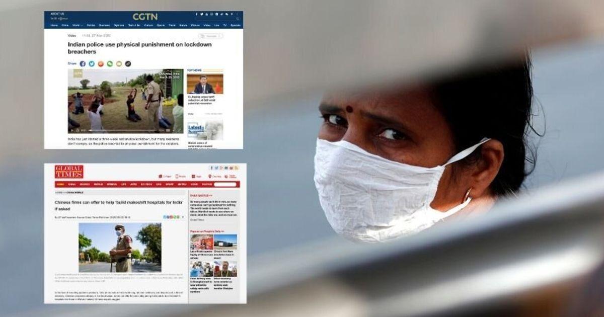How Chinese Media Is Covering India's Handling Of Coronavirus